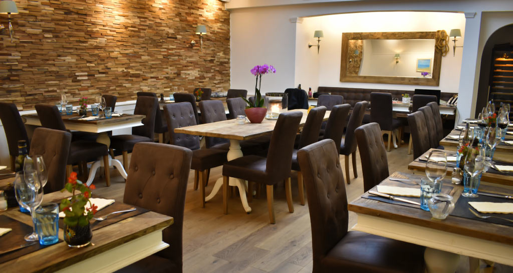 Modern greek restaurant for Ammos authentic greek cuisine