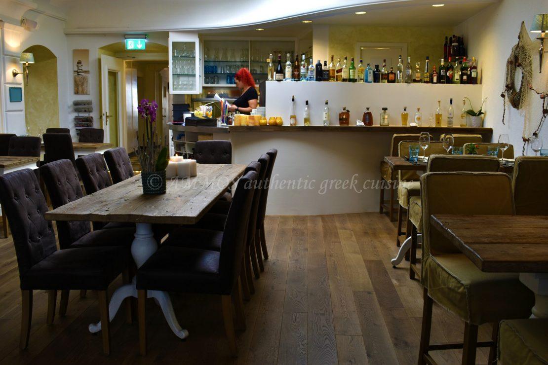 Greek restaurant for Ammos authentic greek cuisine