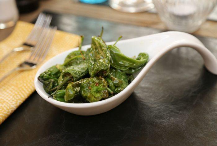 frittierte grüne peperoni