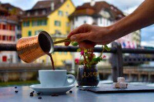 griechischer mokka?  – wissen wir noch nicht ob rastkaffee einen für uns macht